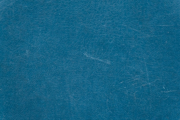 熟成した青い革の織り目加工の背景