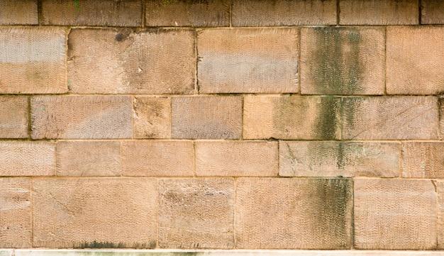 Aged brickwall