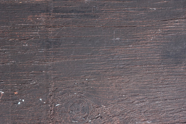 Aged brown wood board background