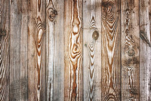 나무 판자에서 세 자연 배경