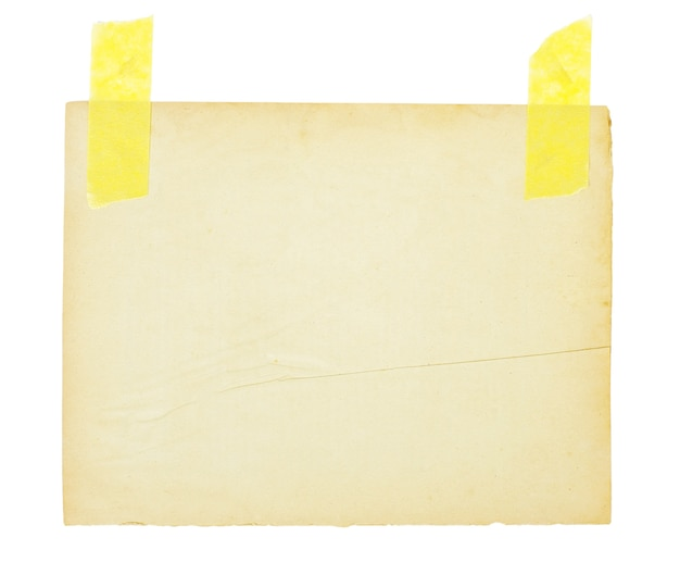 Возрасте лист бумаги фон