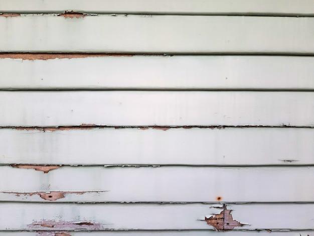 Aged peeling slat wall