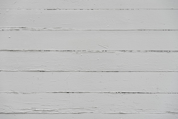 Aged white wood planks background