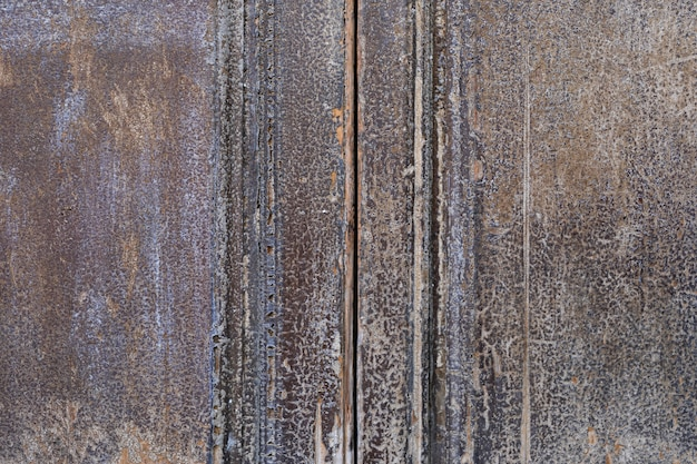 Aged wooden surface with rough appearance