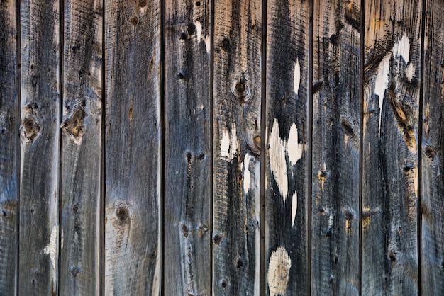 Aged wooden wall backdrop