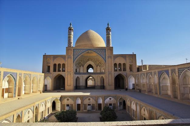 Agha bozorg mosque, kashan, iran