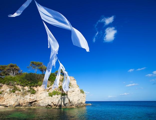 Agios sostis in zakynthos island