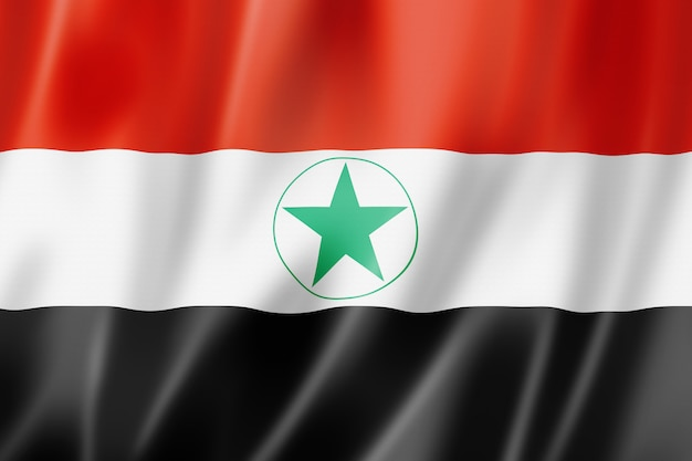 Ahwaziアラブ民族の旗、イラン
