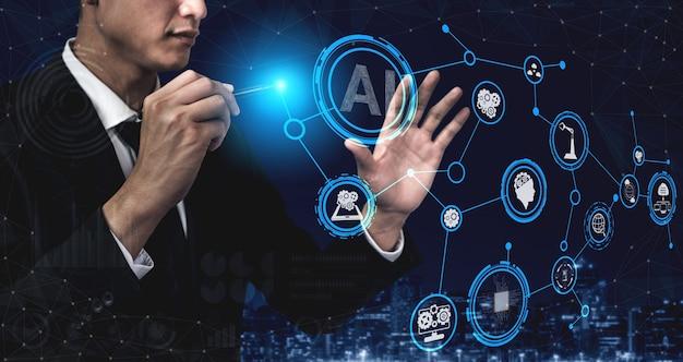 Концепция обучения ии и искусственного интеллекта.