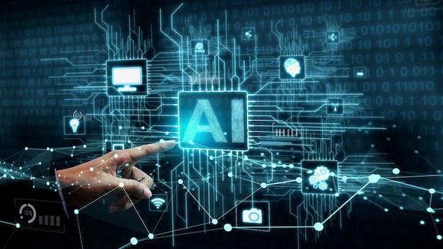 Концептуальное обучение искусственного интеллекта и искусственного интеллекта.