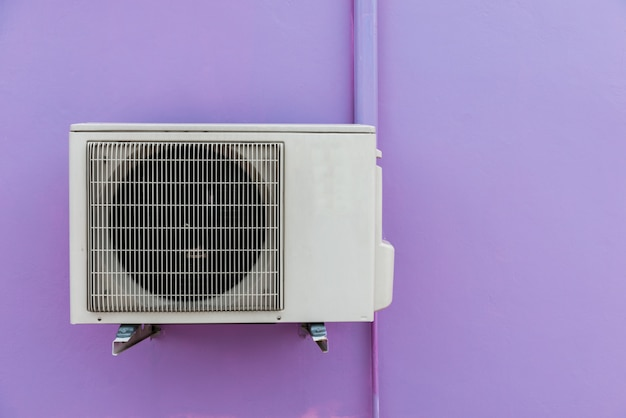 벽에 공기 압축기