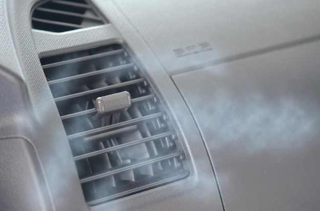 Air-conditioning car