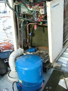 Air conditioning compressor change