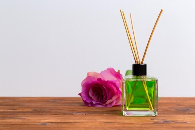 自宅で芳香剤スティック