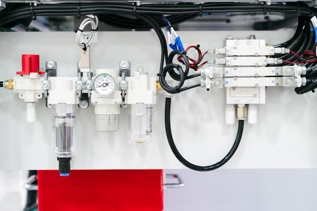 Air pressure valve controller, industrial equipment.