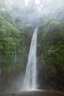 エアテルジュンムンドゥックの滝。バリ島、インドネシア。