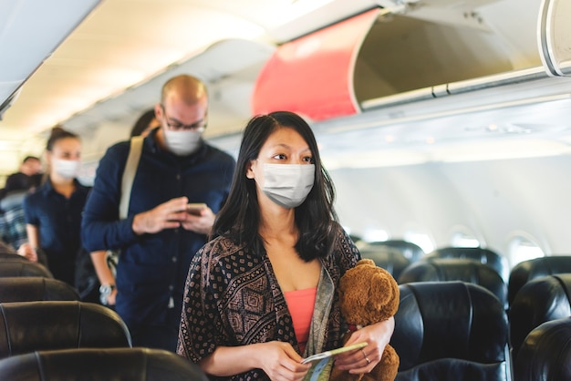 Air travel in the new normal