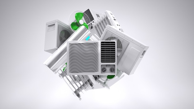 Aircon heater climate equipment