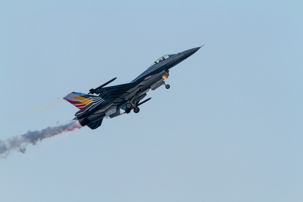 Aircraft belgian solo display