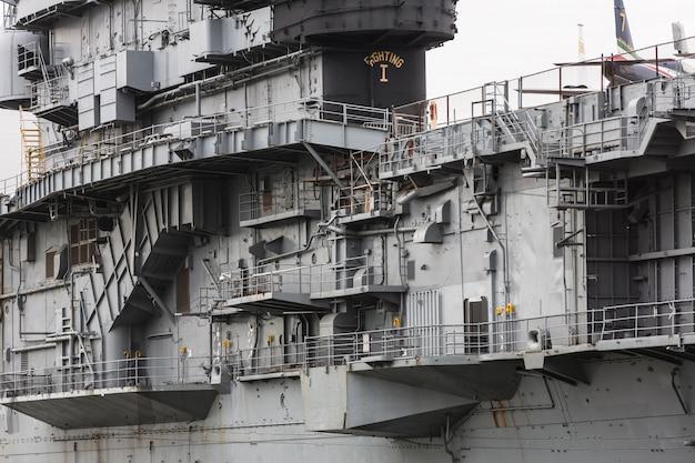 Aircraft carrier uss intrepid