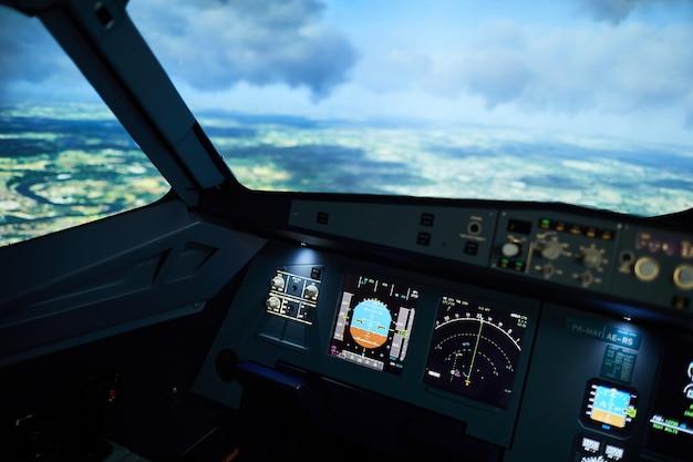 Aircraft flight deck