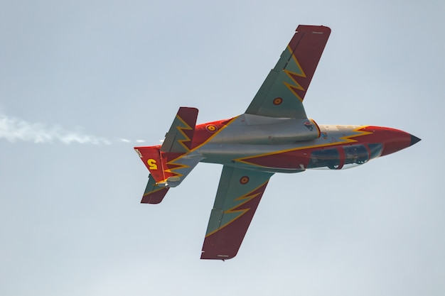 Aircraft  of the patrulla aguila