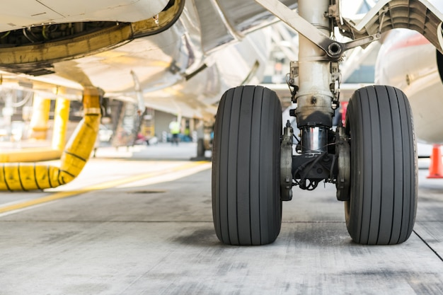Aircraft tires of plane