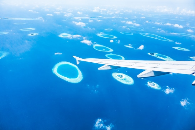 Airliner zanzibar travel airplane africa