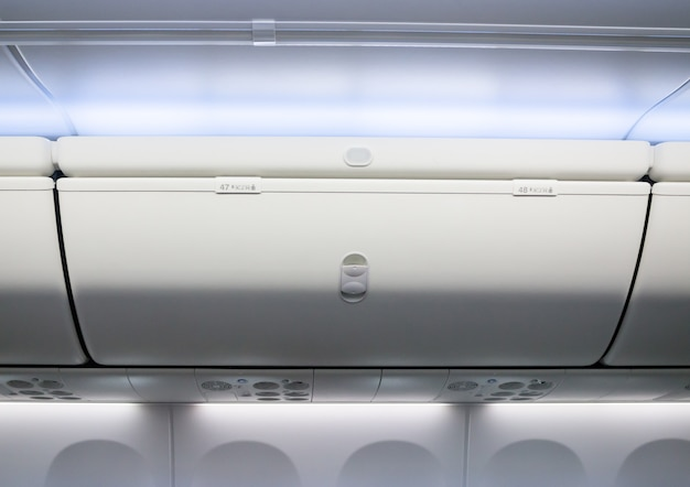 Airplane cabin interior useful box