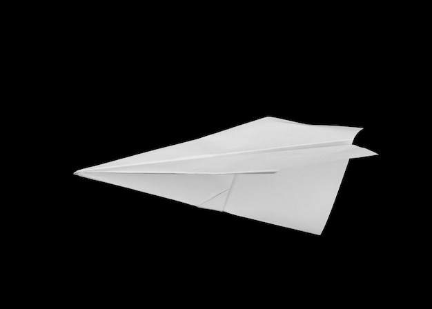 Airplane made of paper