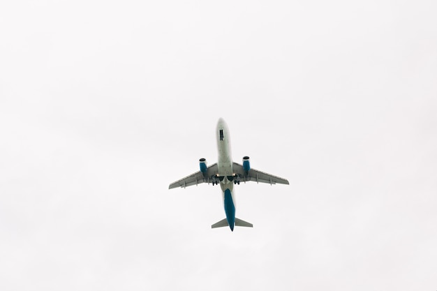Airplane taking off from the airport against sky