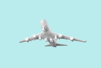 飛行機のおもちゃ、旅行コンセプト