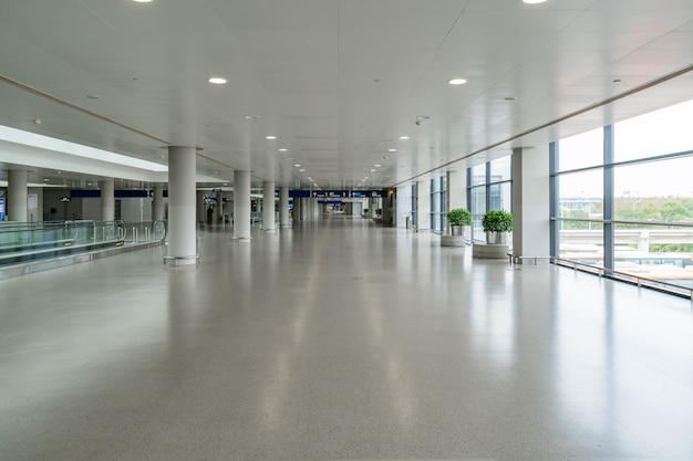 Airport waiting hall