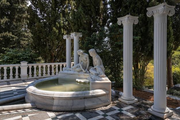 Айвазовский парк райский ландшафтный парк партенит крым
