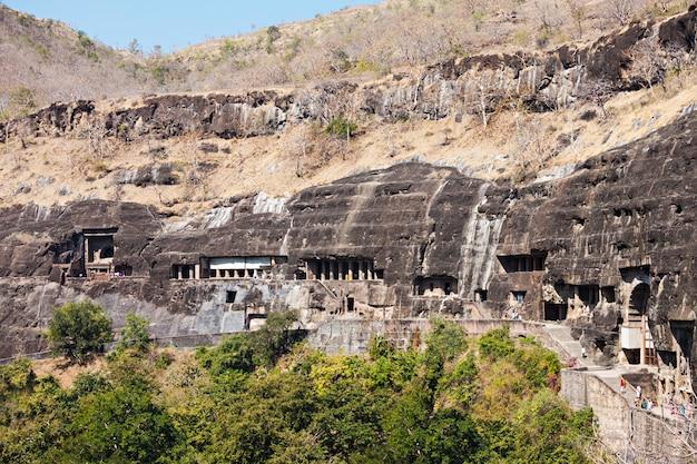 アジャンタ洞窟、インド