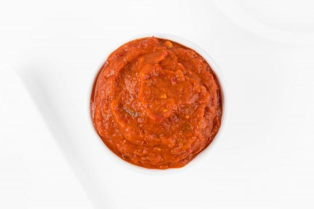 Ajvar or pindjur vegetable spread