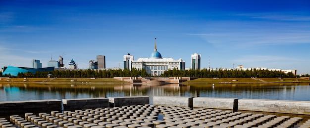 The ak orda presidential palace in kazakhstan