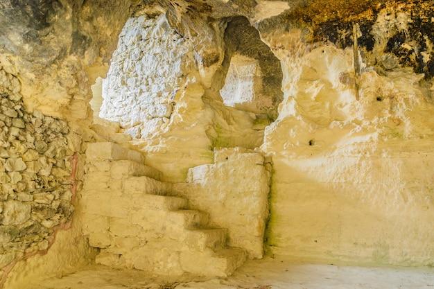 ヴァルナ近くのaladzha修道院の遺跡