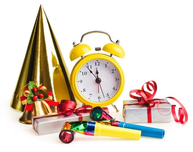 Будильник с рождественскими подарками