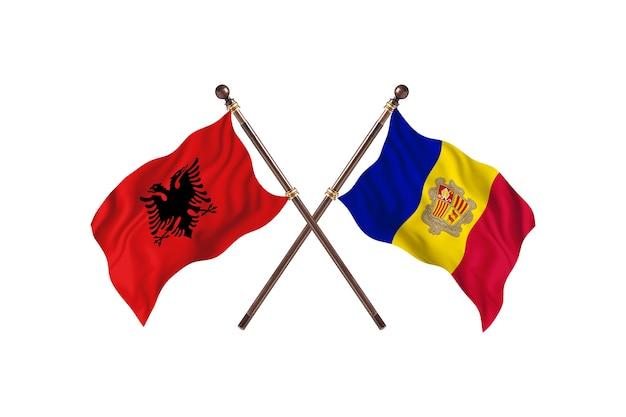 알바니아 대 안도라 투 플래그