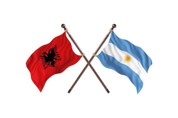 알바니아 대 아르헨티나 투 플래그