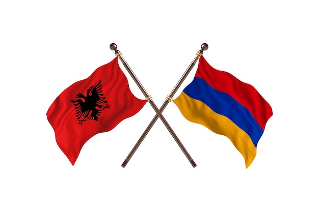 알바니아 대 아르메니아 투 플래그