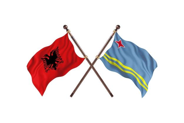 알바니아 대 아루바 투 플래그