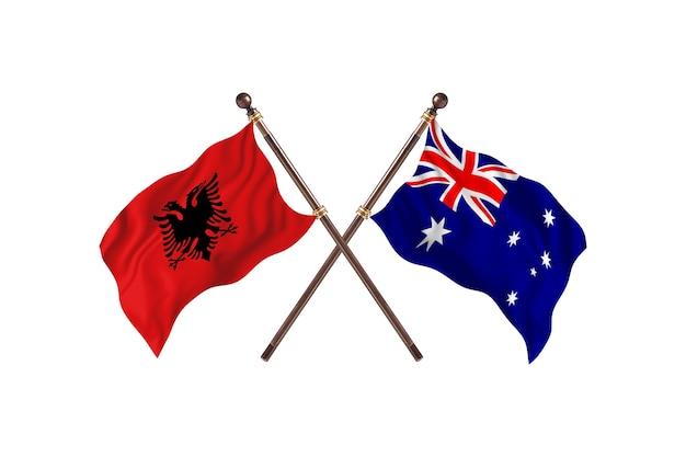 알바니아 대 호주 투 플래그