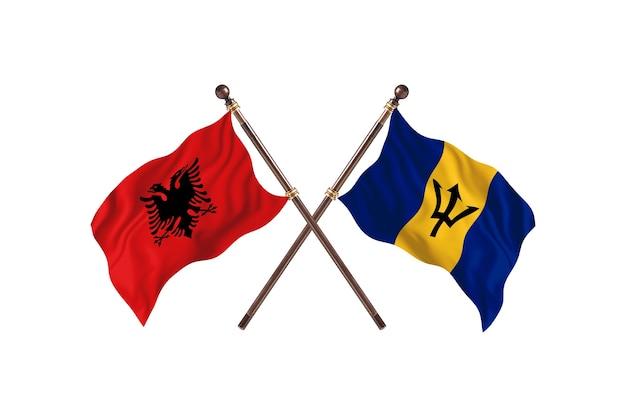 알바니아 대 바베이도스 투 플래그