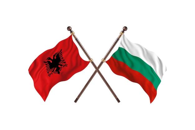 알바니아 대 불가리아 투 플래그