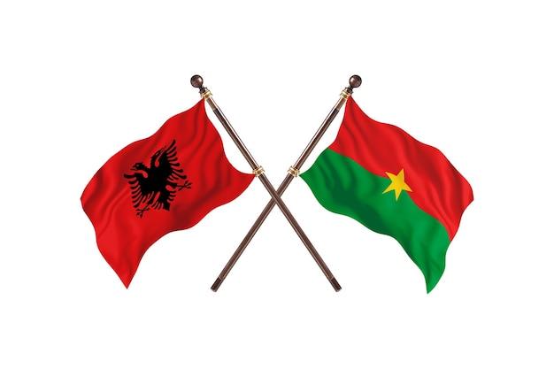 알바니아 대 부르키나파소 투 플래그