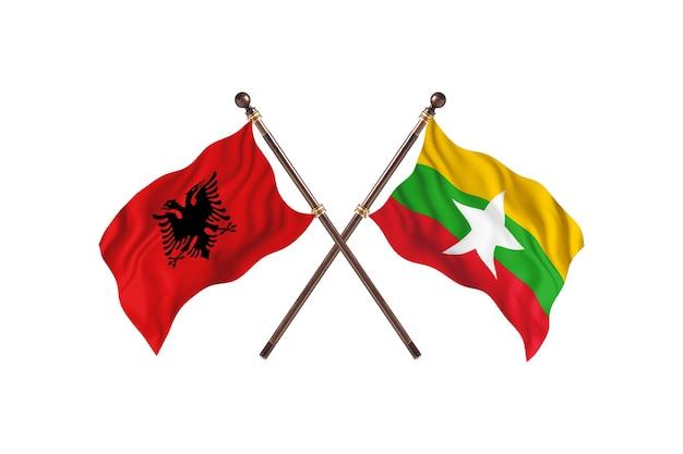알바니아 대 버마 투 플래그
