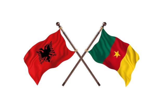 알바니아 대 카메룬 투 플래그