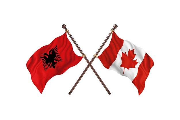 알바니아 대 캐나다 투 플래그